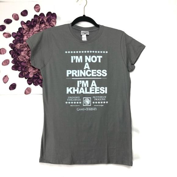 c2b0285c50 GOT 'I'm not a Princess, I'm a Khaleesi' Tee NWT